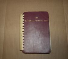 National Fire Protection Association Electrical Code 1971 Paperback Book