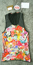 NWT Sleeveless T Shirt Tee Basso & Brooke studio uomo floral print XS mens vest