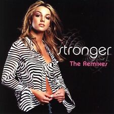 Britney Spears CD Single Stronger 6 tracks Remixes FREE SHIPPING