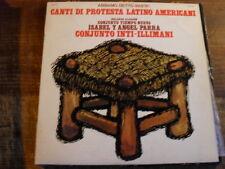 """""""CANTI DI PROTESTA LATINO AMERICANI"""" - LP VINILE"""