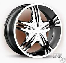 "26"" STATUS VICE CHROME WHEELS ""Brand New"" 5 OR 6"