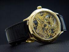 Swiss Watch With ETA Unitas Skeletonized Movement Artist Piece Valuable