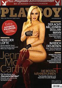 Playboy 12/2012    JENNY McCARTHY  + Adventskalender!   Dezember/2012