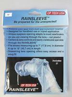 (PRL) RAINSLEEVE PROTEZIONE CAMERA PIOGGIA ANTIPIOGGIA FOTO PLUIE RAIN PHOTO