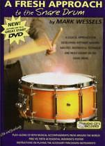FRESH APPROACH TO THE SNARE DRUM Wessels BkCD DVD*