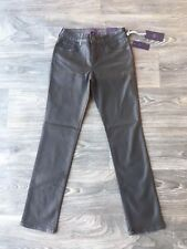 NYDJ Not Your Daughter Jeans Coated Skinny Jeans Gyspy Black Size 4P
