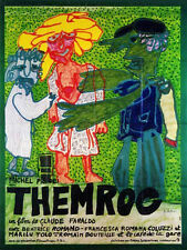 Affiche 120x160cm THEMROC 1973 Piccoli, Dewaere, Bouteille, Coluche, Miou-Miou #