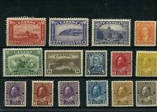High value collection Cat $465 approx. MH stamps Admirals, Scroll + Canada mint