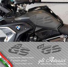 Set Adesivi Fianco Serbatoio Moto BMW R 1200 gs LC Executive 2017 DARK GREY