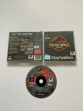 The Lost World: Jurassic Park - Black Label - PlayStation 1 PS1 - Free P+P