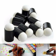 50Pcs Finger Sponge Daubers For Paint Ink Pad Craft with PP Bag ON TO HU
