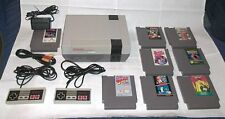 Complete Nintendo Console NES System, 2 controllers, & 8 Classic Games