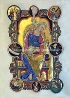 "Illuminated Manuscript   EXHIBITION GRADE Fine Art PRINT 16 x 20 "" NEW"