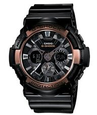Casio G Shock *GA200RG-1A Anadigi Rose Gold & BlackGshock Watch COD PayPal
