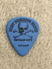 "Most Precious Blood ""Matt Miller� Authentic Tour Guitar Pick"