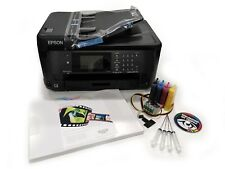 None OEM A3 Dye Sub Sublimation Printer Epson WF-7710 + CISS + Ink + A3 Paper