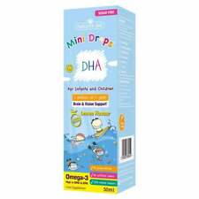 Natures Aid DHA Omega-3 Drops for Infants and Children 3+ months - 5 Years 50ml