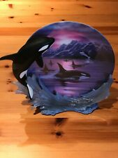Hamilton Collection 1998 Peaceful Journey Serenity At Sea Plate Collection