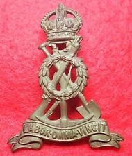 Pioneer Corps  Brass Cap Badge  with Lugs WW1-WW2