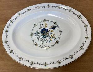 """Argyle"" Bone China  Serving/ Roast Plate (D3)"
