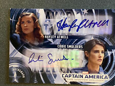 UD Captain America:Winter Soldier HAYLEY ATWELL/COBIE SMULDERS Dual Autograph SP