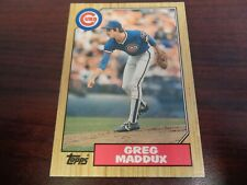 1987 Topps Traded Greg Maddux #70T ROOKIE CARD-Braves-Cubs-NrMt-Mt!