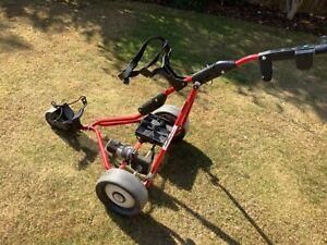 Powakaddy Freeway Electric Golf Trolley-No Battery/Charger