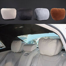 Beige Car Headrest Neck Supports Pillows Seat Cushion for Benz W204 W203 W211
