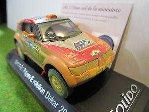 MITSUBISHI PAJERO EVOLUTION # 306 DAKAR de 2005 au 1/43 SOLIDO 15114-01 voiture