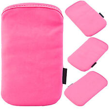 Soft Pouch Skin Slip Case Cover Sleeve For Apple iPhone 4S, 4, 3GS, 3G - Pink