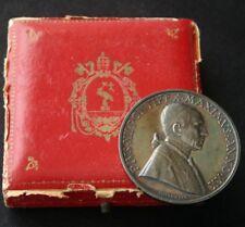 POPE PIUS XII Vatican Radio Silver Medal Mistruzzi