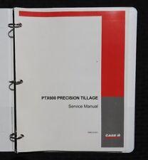 CASE MODEL PTX600 PTX 600 CHISEL PLOW PRECISION TILLAGE SERVICE REPAIR MANUAL