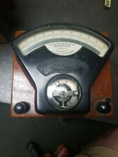 Weston Electrical Instrument Company / Thomas Houston Electric Model 1 Voltmeter