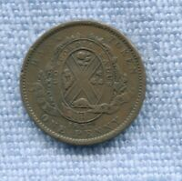 1837 Concordia Salus Canada Quebec Bank One Penny Bank Token L-298