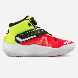 Puma Men's DISC REBIRTH Basketball Shoes Yellow Alert Red Blast 194812-01 f