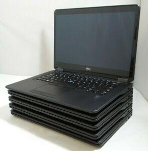 """Lot of 5 - Dell Latitude E7450 14"""" Touch i5-5300u 2.3GHz 8GB RAM SEE DESCRIPTION"""