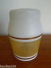 SPLENDIDA Muro Art Deco / paralume Satinato Bianco / stippled Arancione Design Grazioso