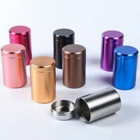 Stash Jar Aluminum Herb Jars Airtight Smell Proof Container Tea Caddy #zx