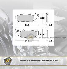 PER HONDA HM CRE SIX COMPETITION 2T 125 2011 COPPIA PASTIGLIE FRENO ANTERIORI BR