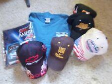 Nascar Souvenirs Caps, Program & T-Shirt XL Lot ~ #88 ~ #20 ~ New & Used