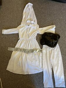 Disney Princess Leia Outfit Costume Child Children Kids 4-5 Years