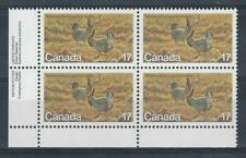 CANADA 1980 ENDANGERED WILDLIFE (4th SERIES) - SG977 PRAIRIE CHICKEN MNH x 4