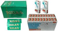 1200 RIZLA GREEN ROLLING PAPERS 1200 SWAN COOL MENTHOL EXTRA SLIM FILTER TIPS