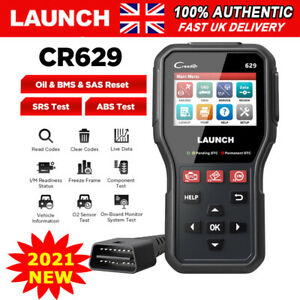 LAUNCH ABS Airbag SAS Reset OBD2 Car Code Reader Scanner Diagnostic Launch CR629
