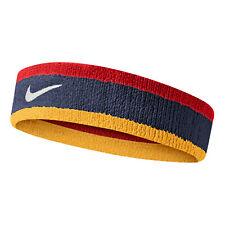 Fascia per Capelli Fitness Basket Tennis Nike Swoosh - Navy/Red/Gold/White