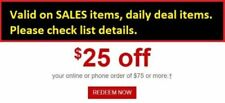 Staples Coupon $25 off $75 Expires 4/21 Online/Phone*Valid on SALES, daily deal*