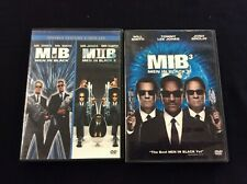 Men in Black Trilogy Dvd Lot 1 2 3 Will Smith Tommy Lee Jones