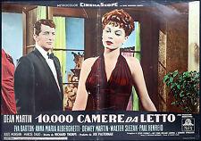 CINEMA-fotobusta 10.000 CAMERE DA LETTO d.martin,bartok