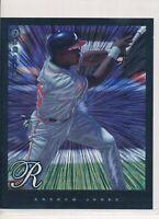 1997 Pinnacle 8X10 1998 Donruss Jumbo Andruw Jones Duflex Braves Lot of 7 RC