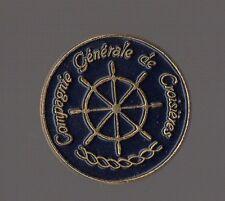 Pin's bateau /  compagnie générale de croisières